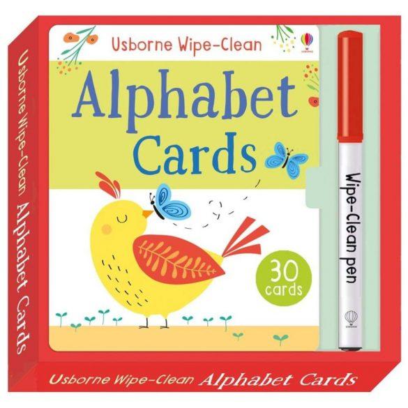 Wipe-clean Alphabet Cards