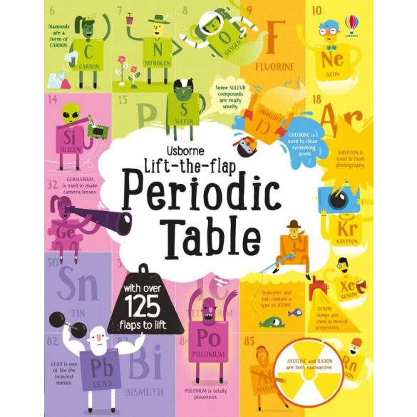 Lift-the-flap  periodic table