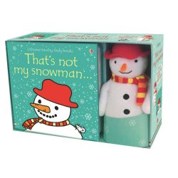 That's Not My Snowman... Book And Toy
