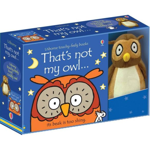That's Not My Owl... Book And Toy