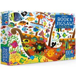 Under the Sea Puzzle Book and Jigsaw
