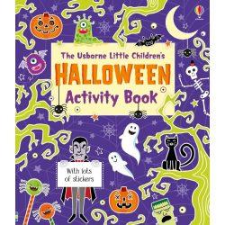 Little Children's Halloween Activity Book