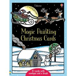Magic painting Christmas cards