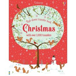 Christmas - Rub-down transfers book