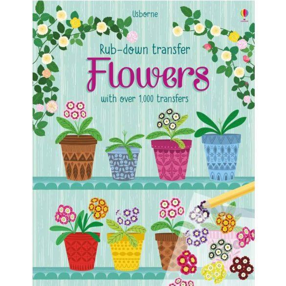 Rub-Down Transfer Flowers