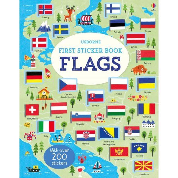 First Sticker Book Flags