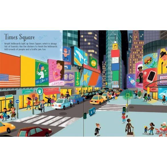 First sticker book New York