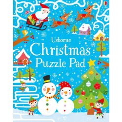 Christmas puzzle pad