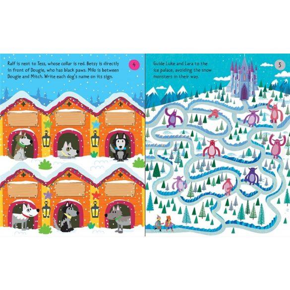 Christmas puzzle pad