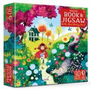 Little Red Riding Hood jigsaw and picture book