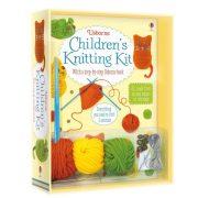 Children's knitting kit