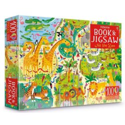 At The Zoo Puzzle Book And Jigsaw
