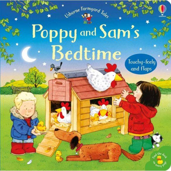 Poppy and Sam's bedtime