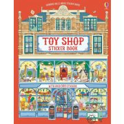 Toy shop sticker book