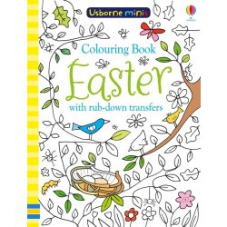 Easter Colouring Book With Rub-Down Transfers