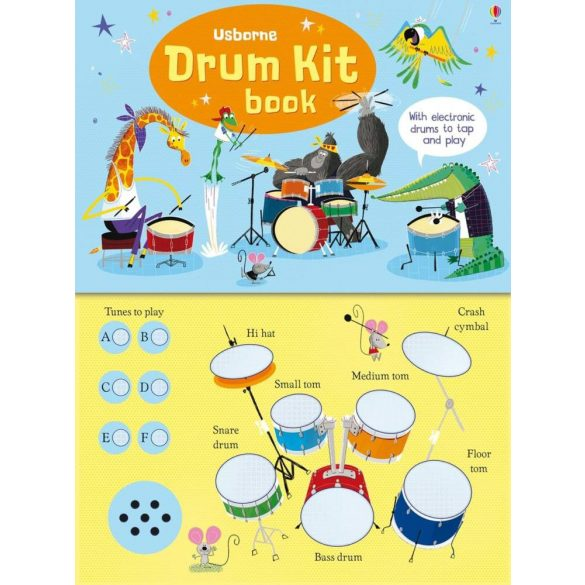 Keyboard, Drumming And Xylophone Books Drum Kit Book