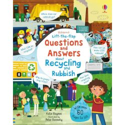 Lift-the-Flap Questions and Answers About Recycling and Rubbish