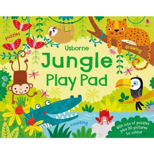 Jungle play pad
