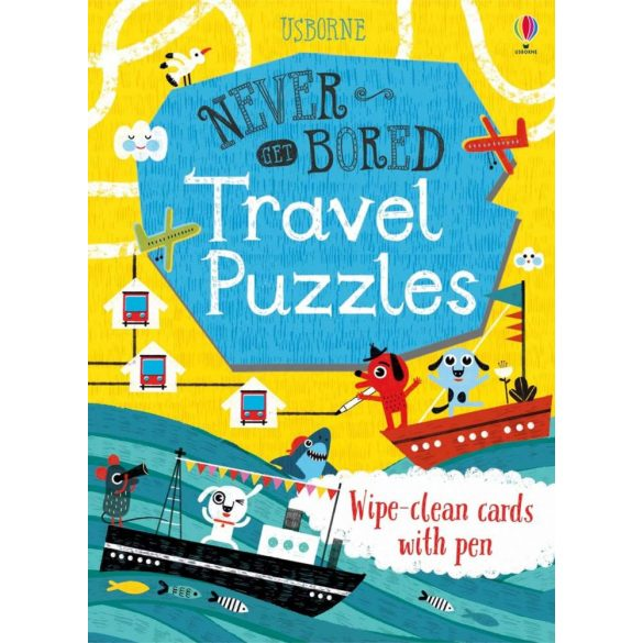 Never get bored cards - Travel puzzles