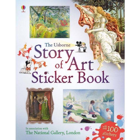 Story Of Art Sticker Book