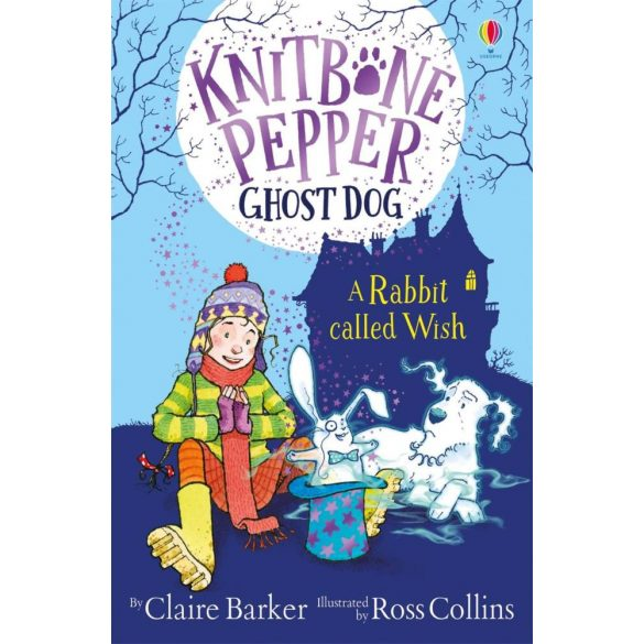 Knitbone Pepper ghost dog - A rabbit called Wish