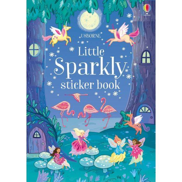 Little Sparkly Sticker Book