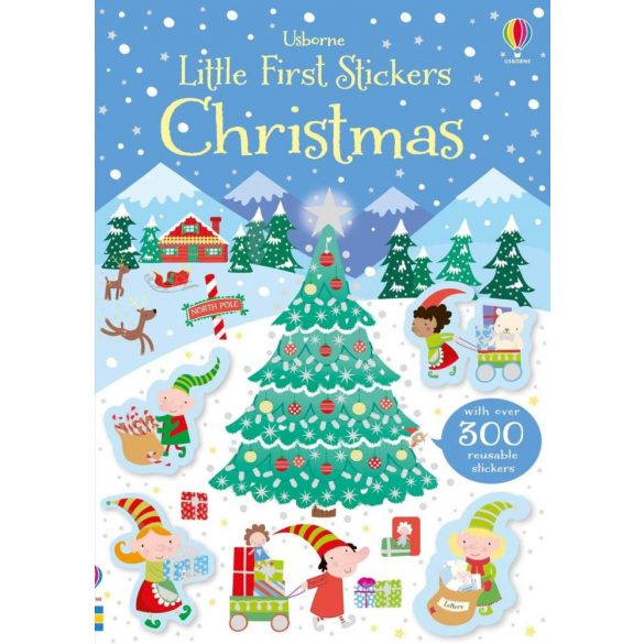 Little First Stickers Christmas