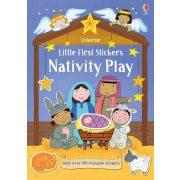 Little First Stickers Little First Stickers Nativity Play
