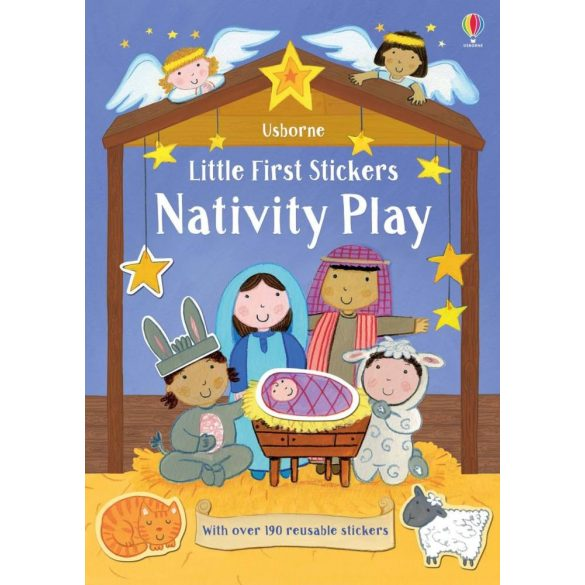 Little First Stickers Little First Stickers Nativity Play