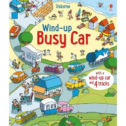 Wind-up busy car
