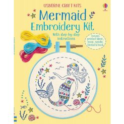 Embroidery Kit: Mermaid