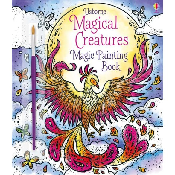 Magical Creatures Magic Painting Book