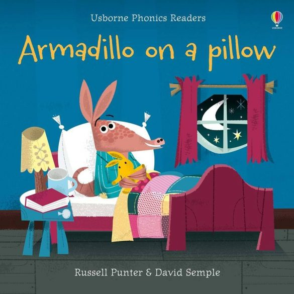 Armadillo on the pillow