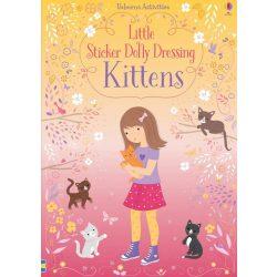 Little sticker dolling dressing - Kittens