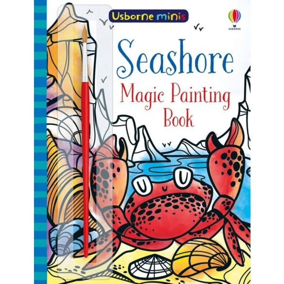 Magic painting seashore