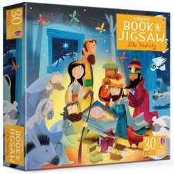 Book and jigsaw - The Nativity