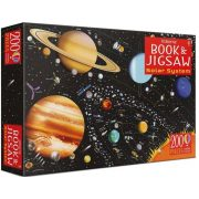 The solar system book and jigsaw
