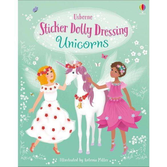 Sticker dolly dressing - Unicorns