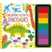 Fingerprint activities - Dinosaurs