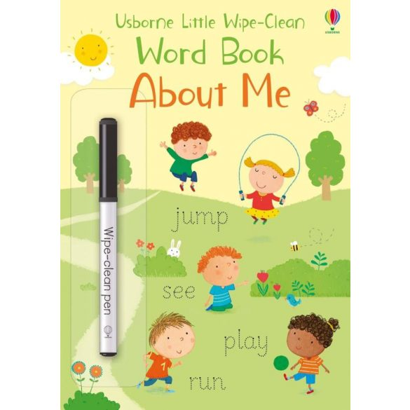 Wipe-clean little book - About me