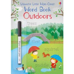 Wipe-clean little book - Outdoors
