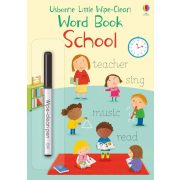 Usborne Little Wipe-Clean Word Book: School