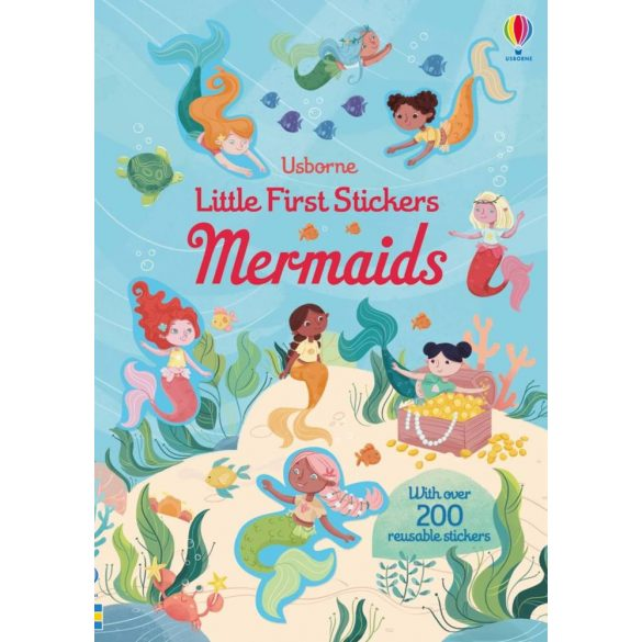 Little first sticker mermaids