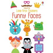 Little first stickers - Funny faces