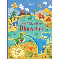 First sticker book - Dinosaurs