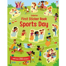 First Sticker Book Sports Day