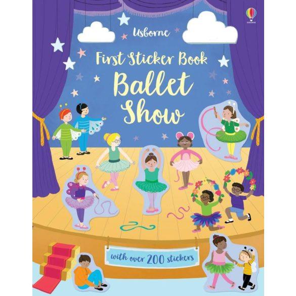 First sticker book ballet show