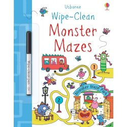 Wipe-clean - Monster Mazes