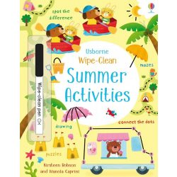 Wipe-Clean Summer Activities