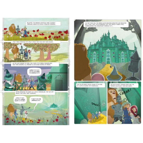 The Wizard of Oz Graphic Novel - Graphic Novel